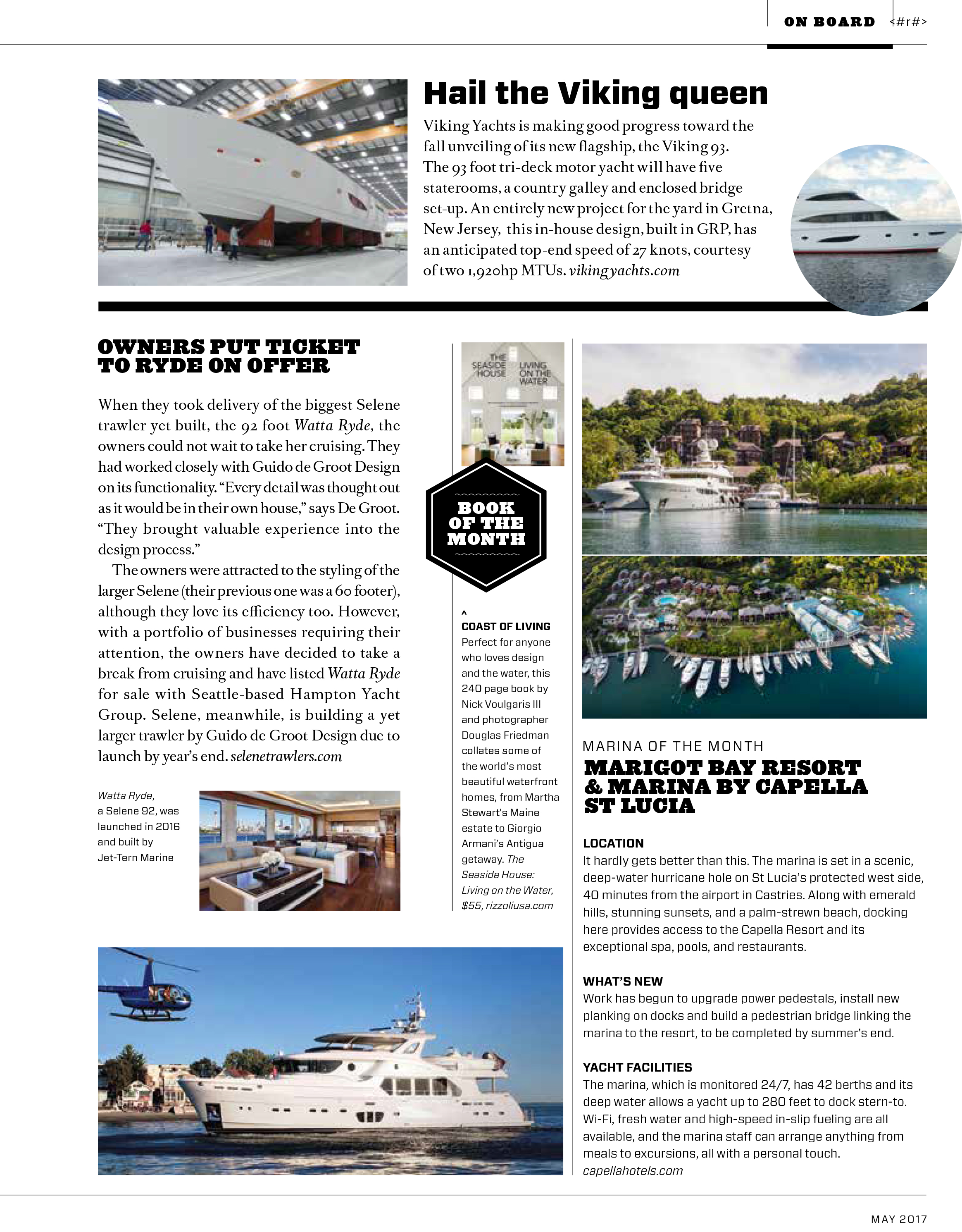 The 92' Selene's Feature in Boat International Magazine